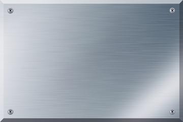 Namensschild aus Eisen