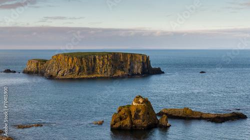 Leinwanddruck Bild Sheep Island, Northern Ireland