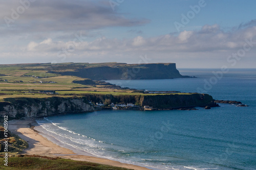 Leinwanddruck Bild Whitepark Bay, Northern Ireland