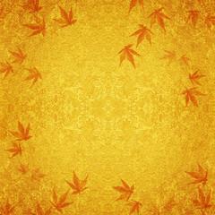 紅葉の背景素材