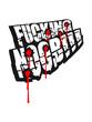 Постер, плакат: Fucking Noob Shooter Logo