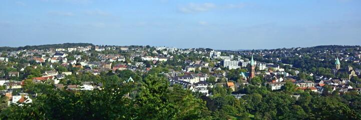 ESSEN-WERDEN  - Stadtpanorama