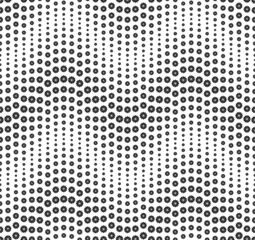 Seamless pattern composed of geometric elements