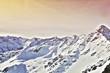 Постер, плакат: снег в горах