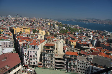 Istanbul roofs
