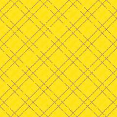 Yellow seamless mesh pattern