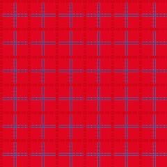 Bright red seamless mesh pattern