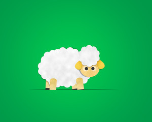 Sheep Paper Clipart