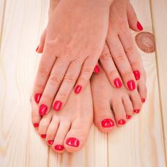 manicure and pedicure, body care, spa treatments