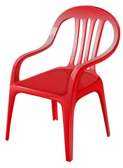 A red chair