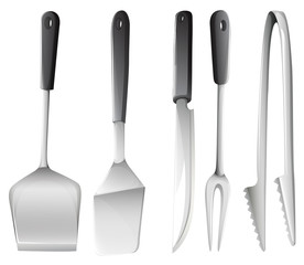 Different cooking utensils