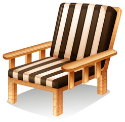 A relaxing chair furniture
