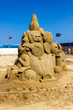 canvas print picture - Sand sculptures