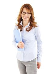 Casual businesswoman portrait