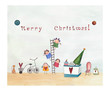 Leinwanddruck Bild - Christmas card