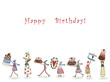 Birthday greeting card - 70424134
