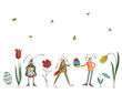 Leinwanddruck Bild - Happy Easter. Greeting card