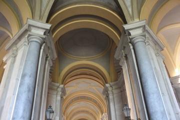 Caserta Royal Palace colonnade