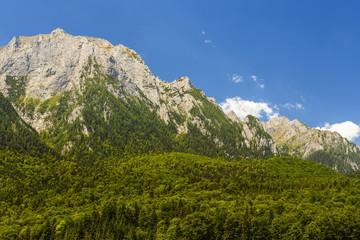 Mountain landscape, Bucegi massif, Romania
