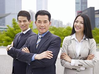 portrait asian business team