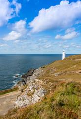Trevose Head Lighthouse near Padstow Cornwall England