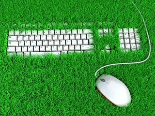 Super ergonomic keyboard for comfortable work. Concept