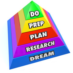 Do Achieve Success Pyramid Steps Instructions