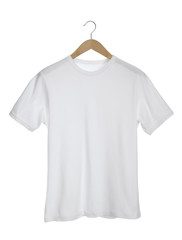 White T-Shirt isolated