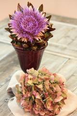 herbstliches Blumenstilleben