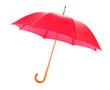Leinwanddruck Bild - Red umbrella open