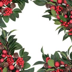 Christmas Abstract Border