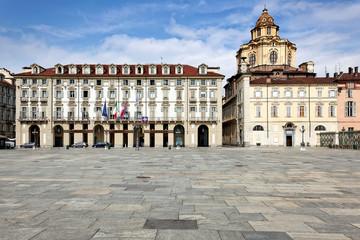 Palazzo della Regione und Real Chiesa di San Lorenzo, Turin