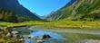 Valley in Caucasus