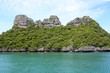 Leinwanddruck Bild - Ang Thong National Marine Park, Thailand