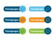 Bouton Web TEMOIGNAGES (utilisateurs clients vote opinions avis)