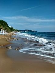 Waves on Sunny Beach