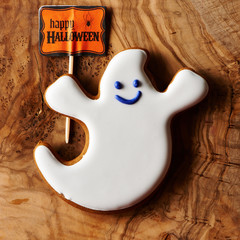 Halloween homemade gingerbread cookie