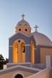 Leinwanddruck Bild - Chapel - Fira - Santorini