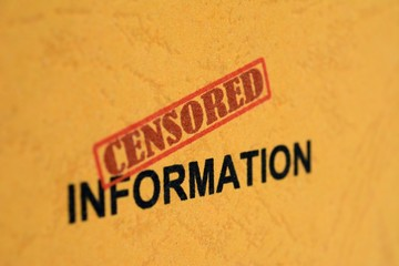 Censored information