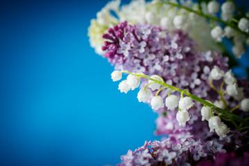 bouquet of beautiful purple lilac