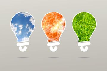 Set pure energy lamp business idea