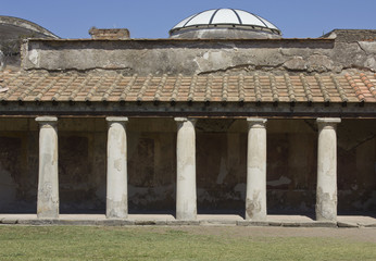 Stabian Thermal baths, Pompei, Italy