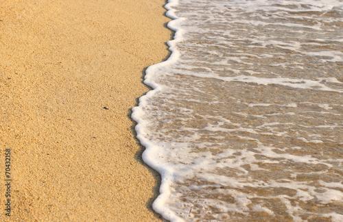 canvas print picture Beautiful beach