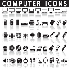 Icons of computer