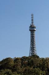 Petrin lookout tower, Prague.