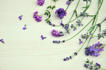 lavender and thyme