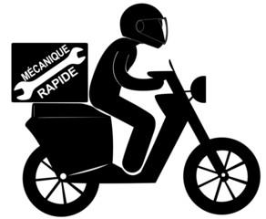 mécanique rapide à scooter
