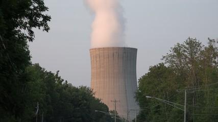 Nuclear Power Plant, Air Pollution, Energy, Electricity