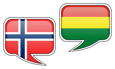 Norwegian-Bolivian Conversation