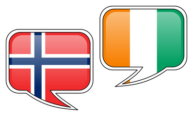 Conversation: Ivory Coast and Norway
